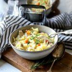Easy Crock Pot Chicken Noodle Soup