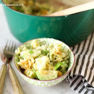 One-Pot Veggie Mac and Cheese is a perfect weeknight side dish or meal loaded with delicious vegetables and as yummy as the classic version!