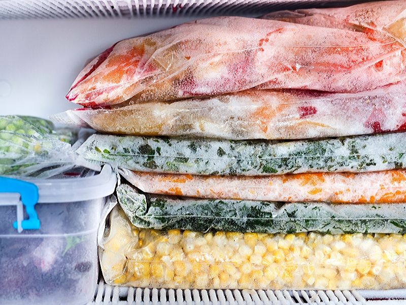 freezer tip: Freeze in small batches