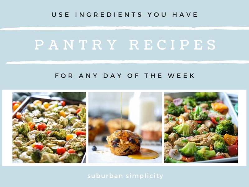 Try these delicious Recipes Using Pantry Staples whenever you need an easy and healthy meal with ingredients you already have on hand.