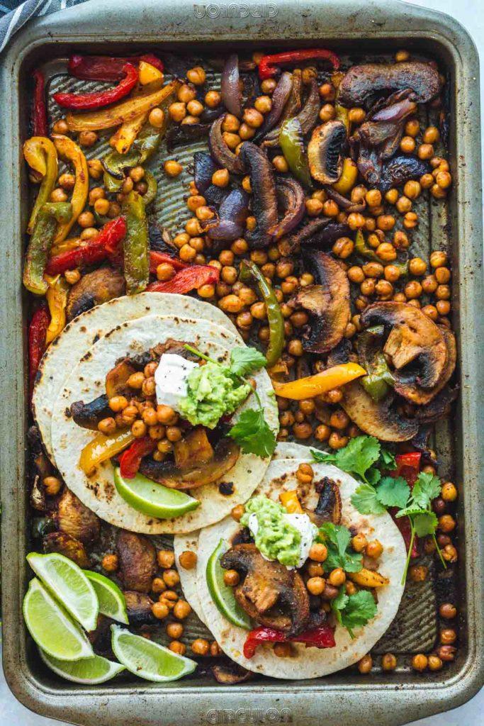 Sheet pan Vegan dinner ideas