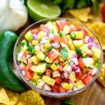 10-Minute Pineapple Salsa Recipe