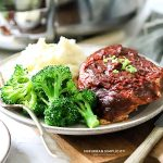 Easy Crock Pot BBQ Pork Chops