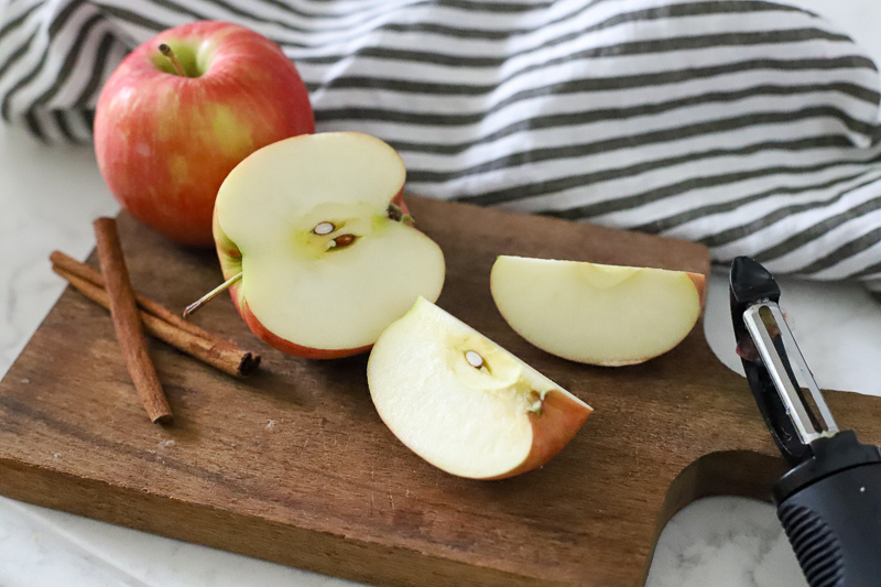 Apples for a slow cooker recipe
