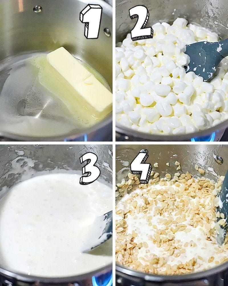 How to make Rice Krispies Mummies
