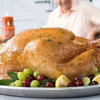 Thanksgiving Turkey on a plate