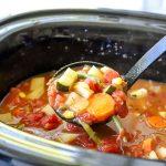 Healthy Crock Pot Vegetable Soup