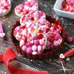 Valentine White Chocolate Bark Bites