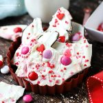 Easy Valentine's Day Chocolate Bark