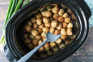 meatballs in a crockpot