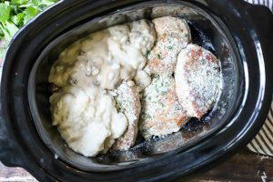 pork chops with condensed soup and ranch dressing