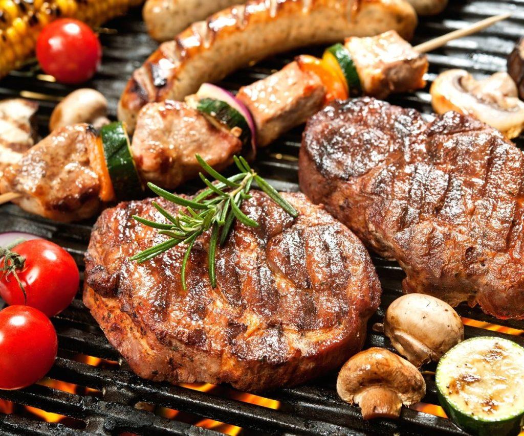 Izgarada biftek
