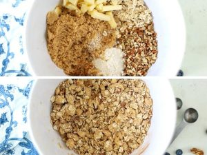 crumble topping for fruit crisp