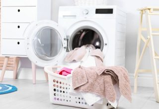 Laundry ready coming out of the washer