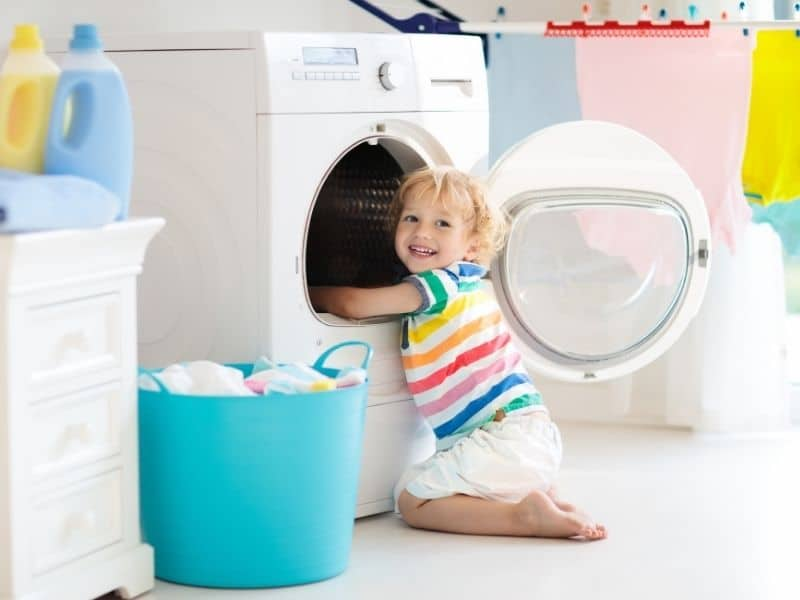 how to do laundry including drying