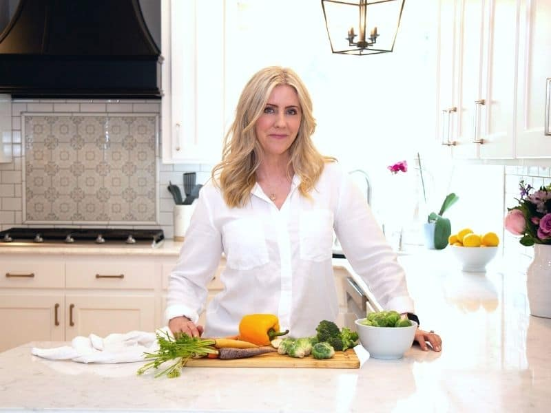 Erin in the kitchen